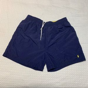 Polo by Ralph Lauren Navy Large Swimming Trunks